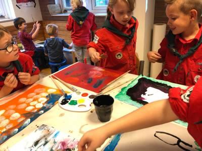 Bevermuseum Schilderen Hjbllanos Scouting Almelo