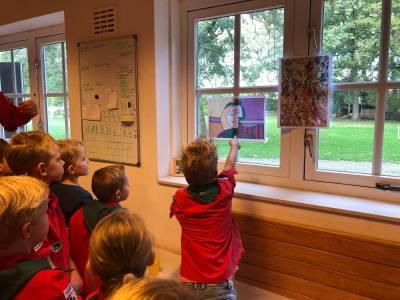 Bevermuseum Schilderij Hjbllanos Scouting Almelo