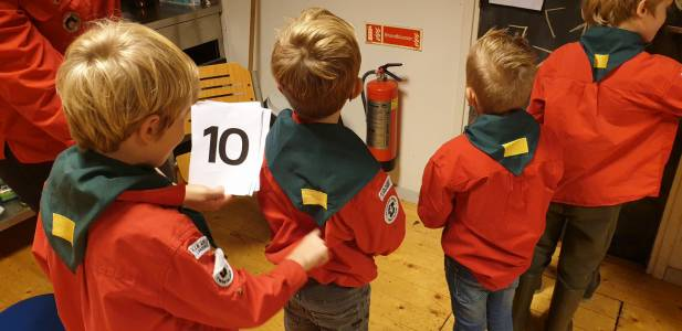 Getallen Kriebelestafette Hjbllanos Scouting Almelo