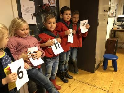 Getallen Volgorde Bevers-scouting-almelo