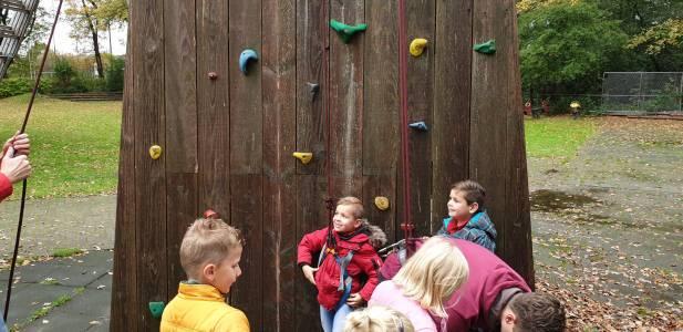 Klimmen Klimtoren Bevers Scouting Almelo