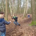 Ridderspelen in het bos!
