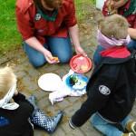 Pannenkoeken bakken met de Bevers!