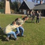 De Paasopkomst van de scouts