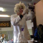 Een echte wetenschapper bij de Welpen!