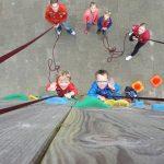 Bevers klimmen naar de top!