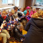 Bevers vieren Sinterklaas