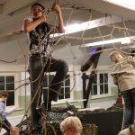 Scouts vermijden dodelijke straal tijdens ninjaspel