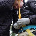 Scouts zoeken de hoogte op