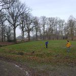Opruimen in het park met de Welpen!