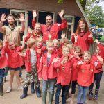 Naar Kinderboerderij Dondertman met de bevers!