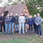 Plaggenhut opbouw Historisch Festival