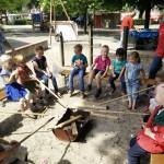Spelletjes bij de BSO 'Het Paleis'