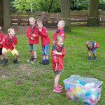 Katapulten en waterballonnen met de bevers